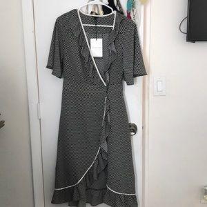 NWT Polka dot dress size s